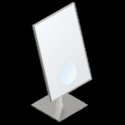Miroir 200 x 300 mm poser hauteur totale 400 mm for Miroir hauteur 200